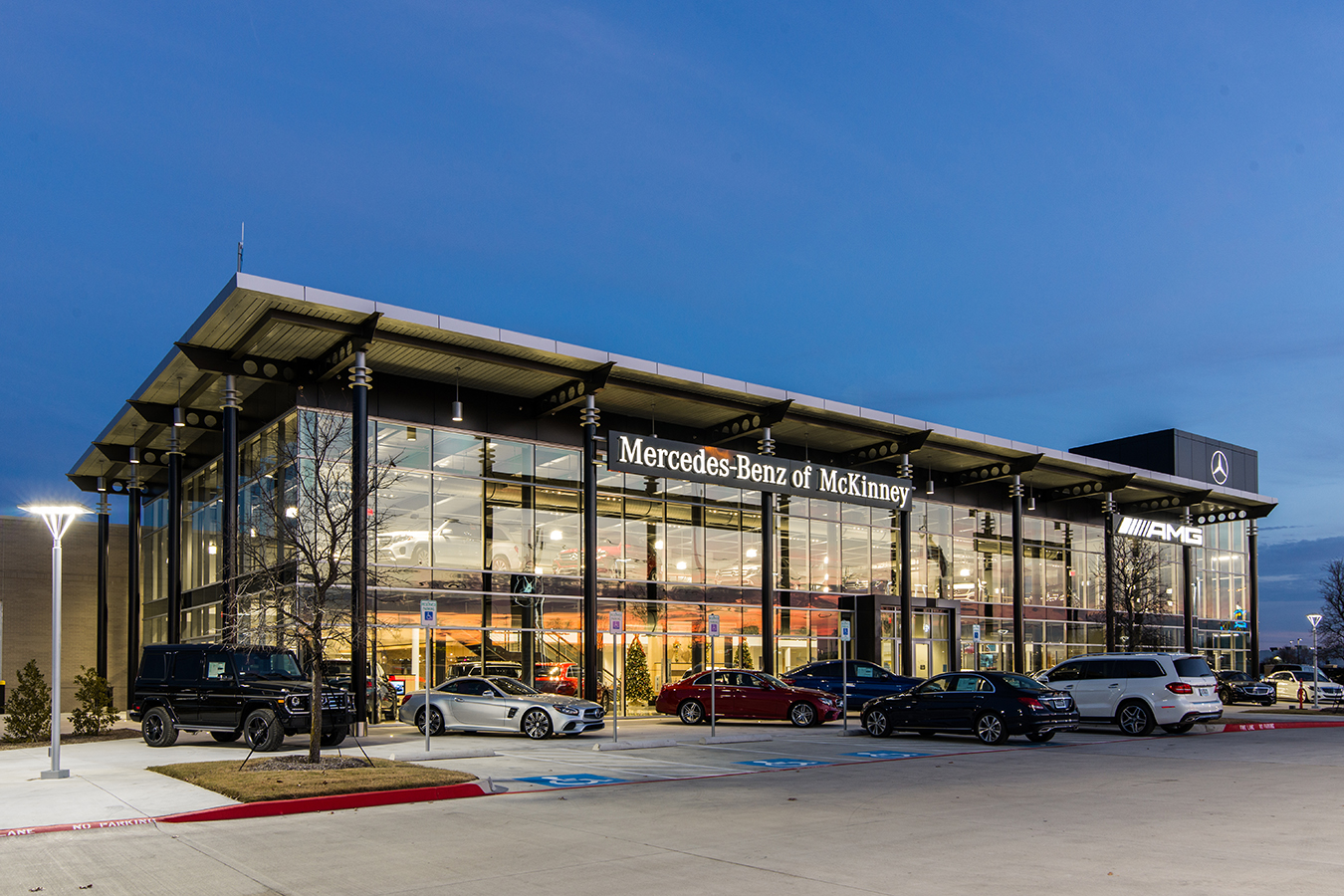Mercedes benz of mckinney venture mechanical for Mercedes benz dealers in texas